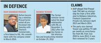 AAP charges Prasad Manish Tewari with conflict of interest