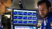 Wall St Falls on Simmering Greece Worries, Tepid Data
