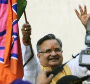 Raman Singh scores hat-trick in Chhattisgarh, calls it people's victory