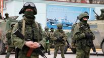Shots fired in air in Crimea naval base confrontation: Official