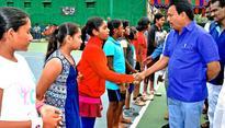 U-14 tennis tourney gets under way