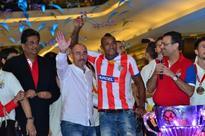 Atletico de Kolkata celebrate ISL victory in Kolkata