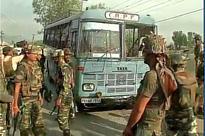 5 Jawans Killed, 20 Injured as Terrorists Ambush CRPF Bus