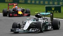 Rosberg eases to Belgian GP win, Hamilton third