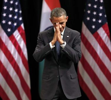 After Obama's religious remarks, parties target Modi