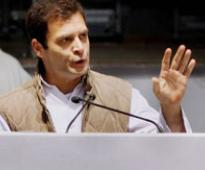India does not need 'chowkidars' who steal farmer's land: Rahul Gandhi