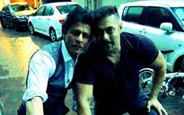 SEE PIC: When Shah Rukh Khan and 'bhai' Salman Khan went on a bike ride
