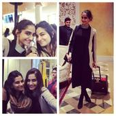 Sonam Kapoor hits Paris with sister Rhea for couture week