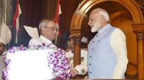 In farewell speech, President Pranab Mukherjee has words of advice for Modi Government