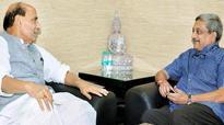 Rajnath Singh, Manohar Parrikar review country's security situation