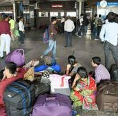 Concierge service at New Delhi railway station