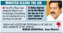 Chennithala Puts Protocol Row to Rest
