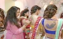 In pics: Garba turns into art festival in Gujarat