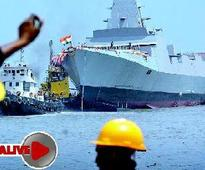 Death on warship INS Kolkata leaves Navy officers angry