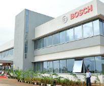 Bosch workers in Bangalore on strike