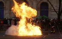 French youths clash with officers and blockade schools in protest over alleged police rape of black youth
