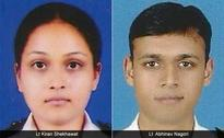 2 Navy Officers Who Died in Dornier Crash to be Cremated Today