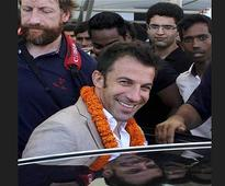 Juventus is part of life, now want to explore India: Del Piero