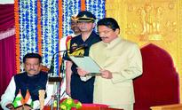 Vidyasagar sworn in as Maharashtra Governor