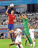 Spain beat Iran 3-1 to reach semis