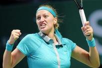 Kvitova wins to end Sharapova's shot at No. 1