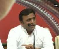 Good work done by SP govt is not reported: Akhilesh