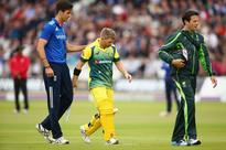 Warner out of England ODIs with thumb fracture