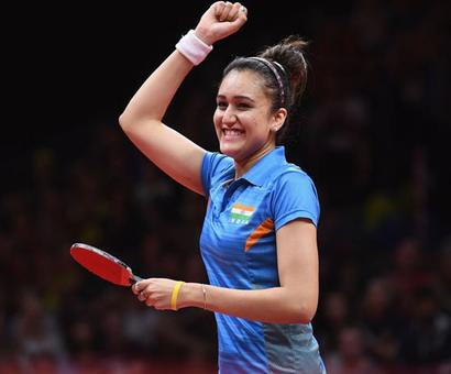 CWG star Manika Batra recommended for Arjuna