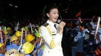 China sends military singer to perform on South China Sea island