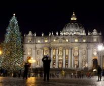 Vatican Lit Up by Christmas Hope and Love