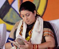No more drama: Gave up acting when I became MP, says Smriti Irani
