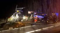 French school bus-train collision toll rises to 6