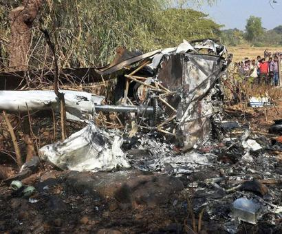 Helicopter crashes in Mumbai; 1 dead, 3 injured
