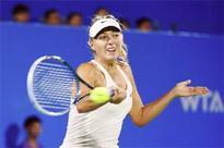 Maria Sharapova advances in WTA Wuhan Open
