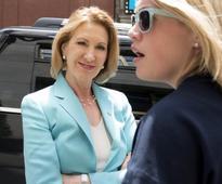 U.S. presidential candidate Fiorina defends Hewlett-Packard tenure