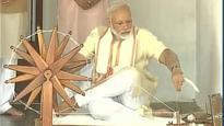 Taking Narmada water to water scarce Saurashtra very big achievement: PM Modi