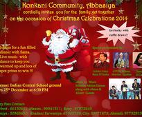 Konkani Community Abbasiya to hold Christmas celebration