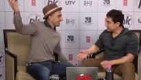 'I am missing Sanjay Dutt', says Aamir Khan at 'PK' live chat