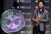 PHOTOS: Shah Rukh Khan unveils TAG Heuer's new Chronograph watch