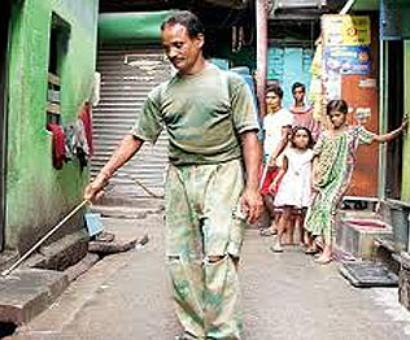 From boxing champ to drain cleaner, Krishna Rout seeks life of dignity