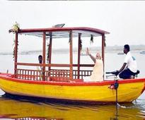 PM Modi launches country's 1st solar-powered e-boats