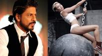 Shah Rukh Khan's little son AbRam likes Miley Cyrus Wrecking Ball