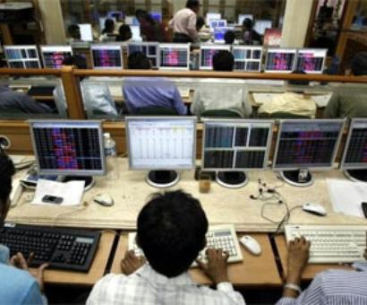 Markets trading flat on profit booking