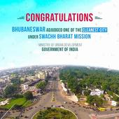 Odisha capital city Bhubaneswar adjudged one of the cleanest cities of India under ongoing Swachh Bharat Mission