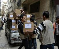 U.N. Security Council demands aid access for Syria's Yarmouk camp