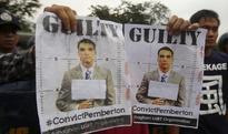 U.S. Marine jailed in Philippines for killing transgender woman