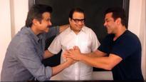 'Jhakas!' says Salman Khan to welcome Anil Kapoor on sets of Race 3