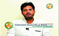 Congress appoints Amrinder Singh Raja Brar Indian Youth Congress chief