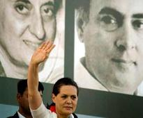 At maiden rally in TN, Sonia brings up Rajiv's assassination