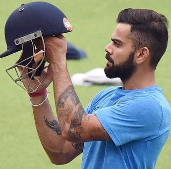 PHOTOS: Indians toil hard in optional practice session